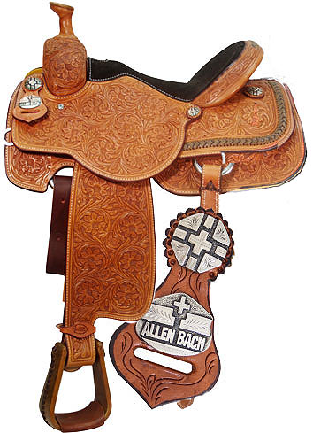 Allan Bach Team Roper Saddle