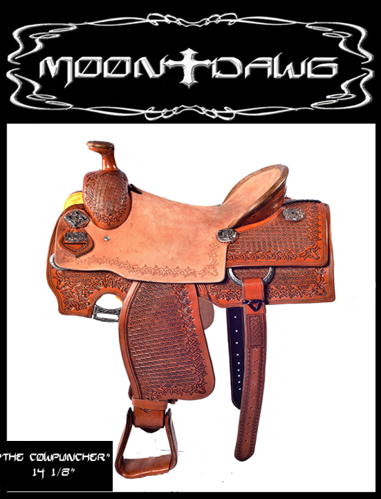 Moon Dawg Saddles Wood Cow Puncher